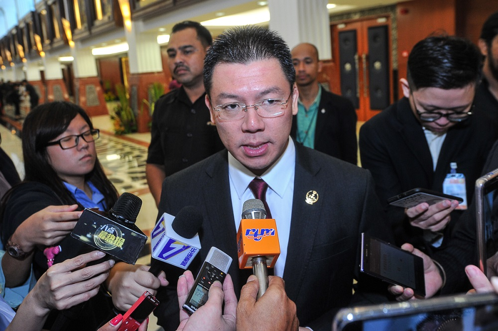 Nga said the Dewan Rakyat Speaker's Office will convene a meeting with Minister in the Prime Minister Department Datuk Liew Vui Keong to discuss the matter on Thursday. — Picture by Shafwan Zaidon