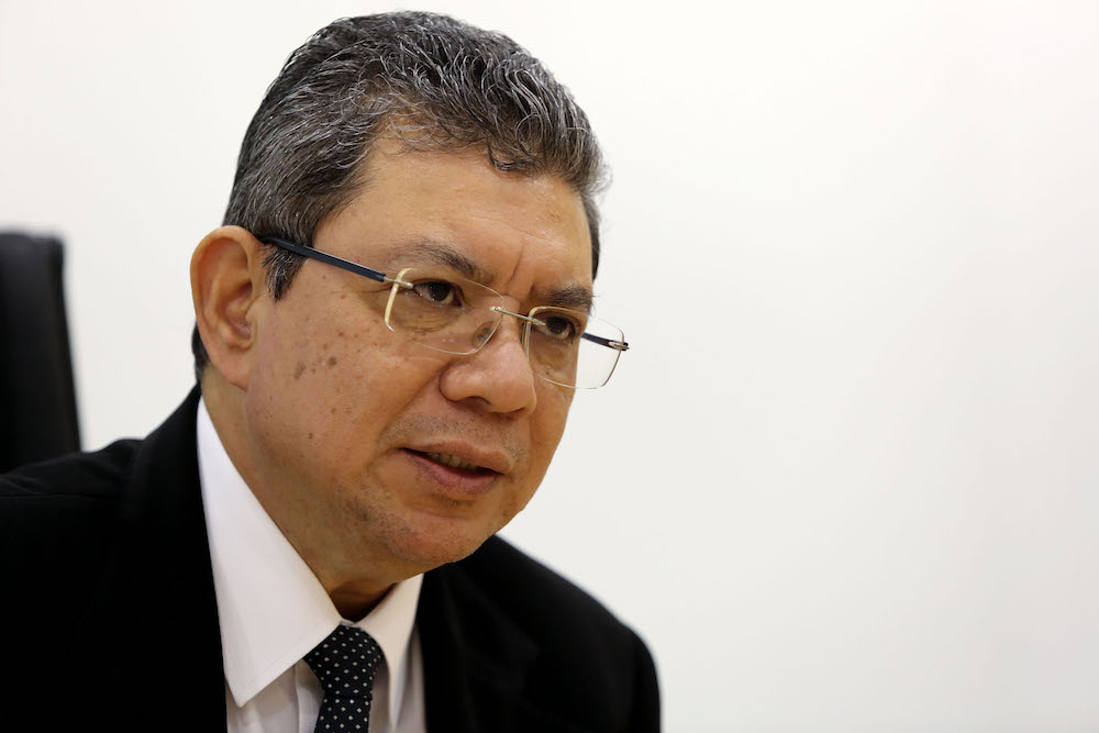 Saifuddin said at present, the government was focusing on the International Convention for the Protection of All Persons from Enforced Disappearance (ICPPED) and the United Nations Convention Against Torture (UNCAT). — Picture by Yusof Mat Isa