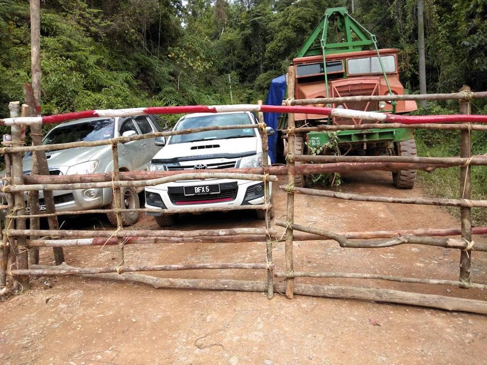 In a public Facebook post two days ago, renowned lawyer and Orang Asli activist Siti Kasim said that for the last four months, the Temiars have been holding on to stop further destruction to their lives. — Picture courtesy of Facebook/Siti Kasim