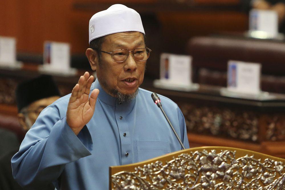 Datuk Husain Awang is currently warded at Setiu Hospital. ― Picture by Yusof Mat Isa