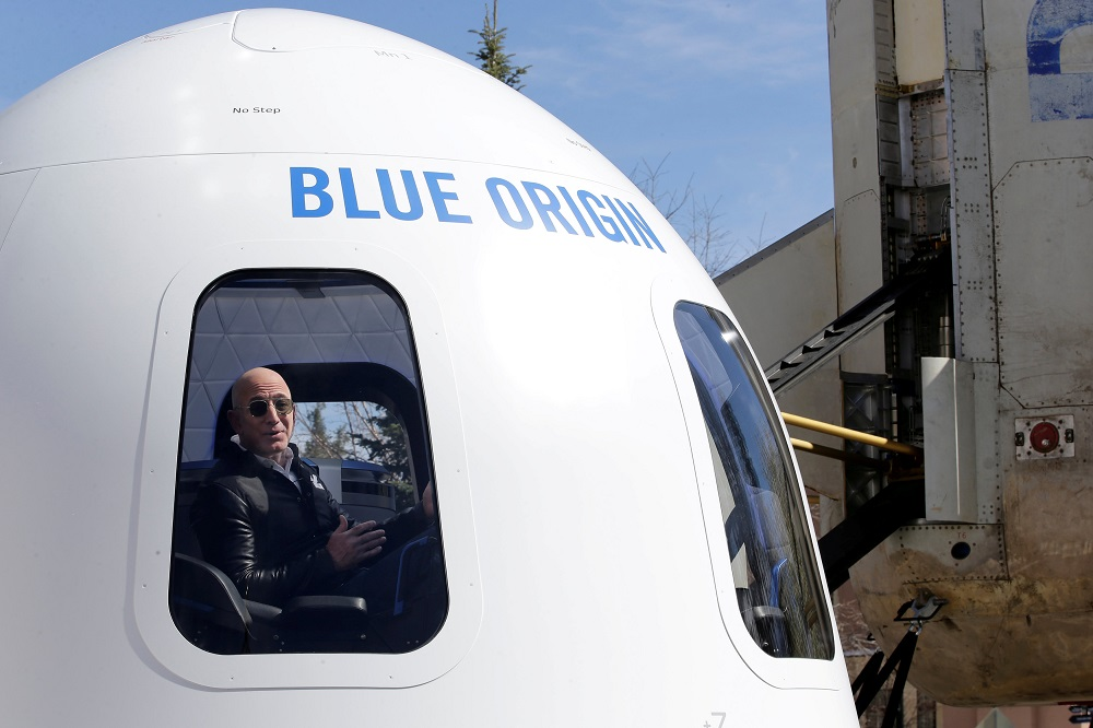 Asteroid Sampling Technology Tested on Blue Origin's Suborbital Rocket