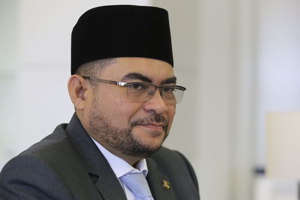 Mujahid asked the public to refer to his interview with The Star, published yesterday in a question-and-answer format. — Picture by Yusof Mat Isa