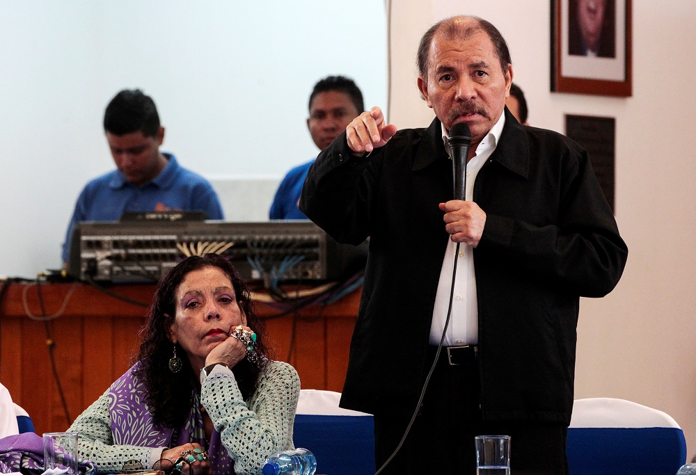 Former leftist guerrilla Daniel Ortega, 75, who is accused by his opponents of authoritarianism, has been in power since 2007. — Reuters pic