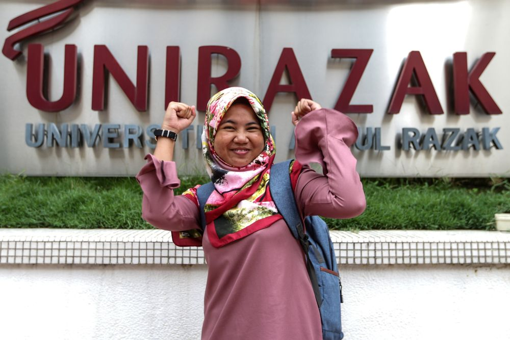 Latheefa has handled stateless cases, such as Klang-born Roisah Abdullah who was finally recognised as a citizen this year. — Picture by Ahmad Zamzahuri