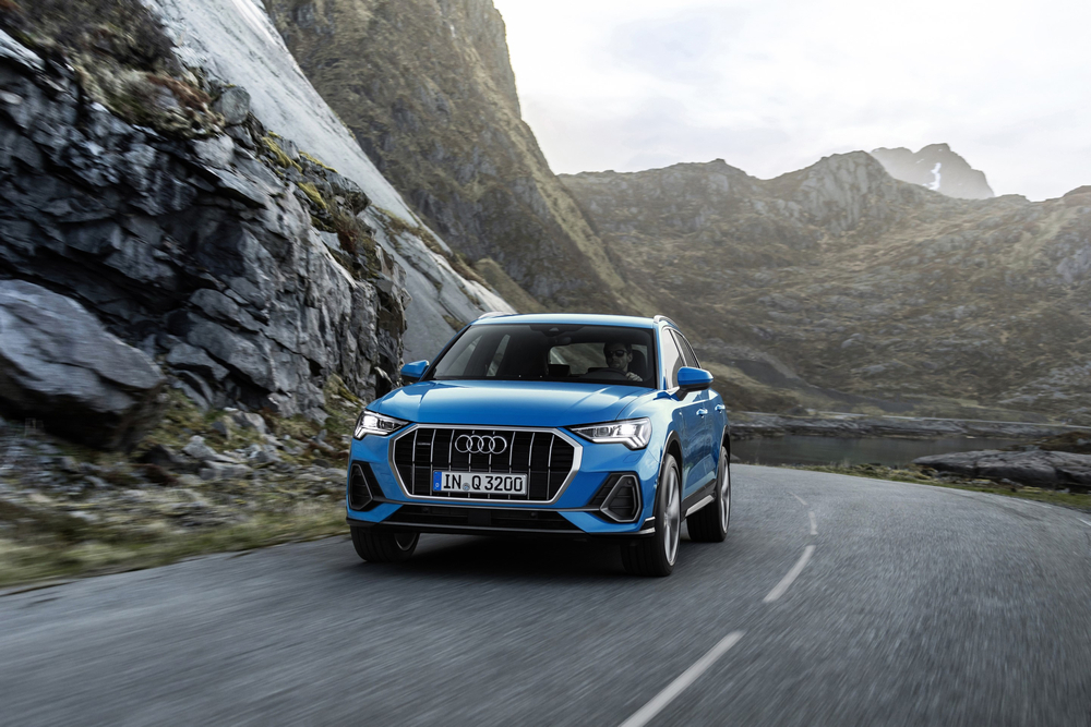 New Audi Q3 has been restyled to integrate the brand's latest design signatures. — Picture courtesy of Audi AG