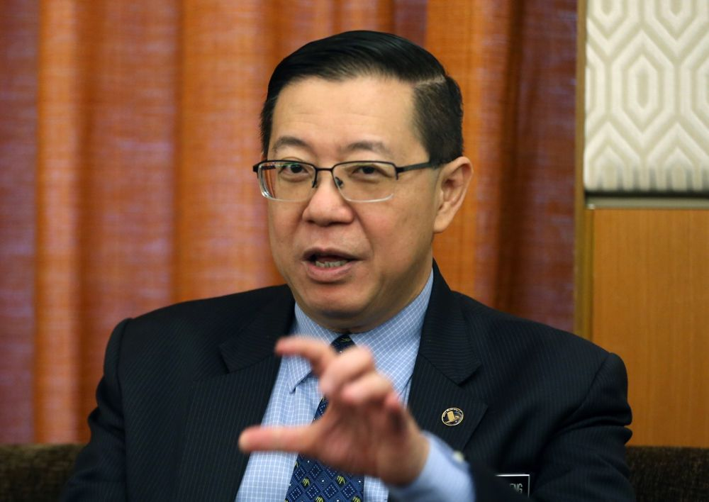 Lim said the committee will need to find new ways to raise tax collection progressively without affecting the lower-income (B40) group. ― Picture by Razak Ghazali