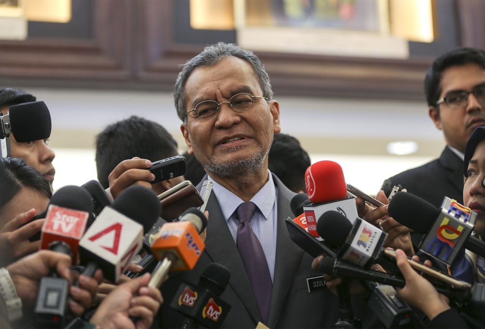 Dzulkefly was quoted by a news portal as saying that the regulation, which will be prepared by the Ministry of Health, is needed to prevent any untoward incidents. — Picture by Azneal Ishak