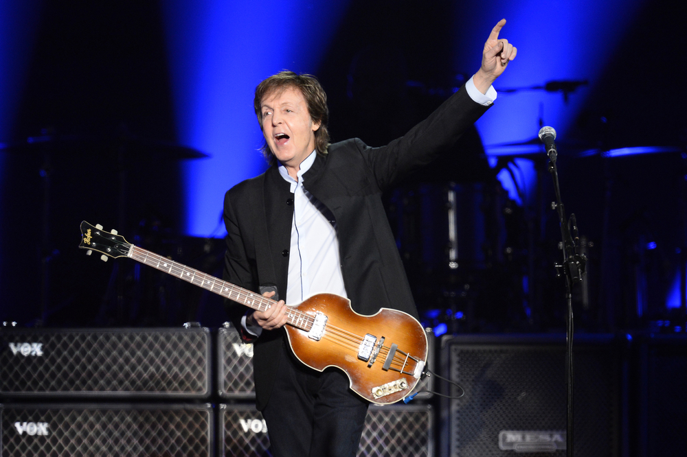 Beatles legend Sir Paul McCartney. — AFP pic