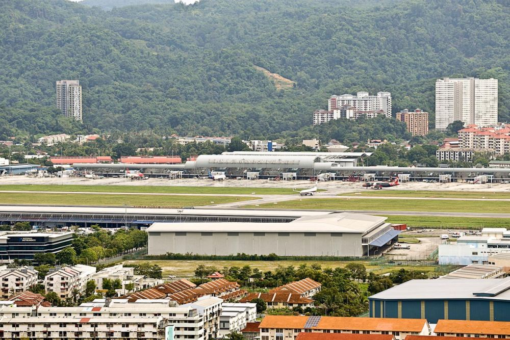 Chow said the expansion of the existing Penang International Airport (PIA) will only be able to last for another 20 or 30 years before passenger and cargo capacity is exceeded again. — Picture by Sayuti Zainudin