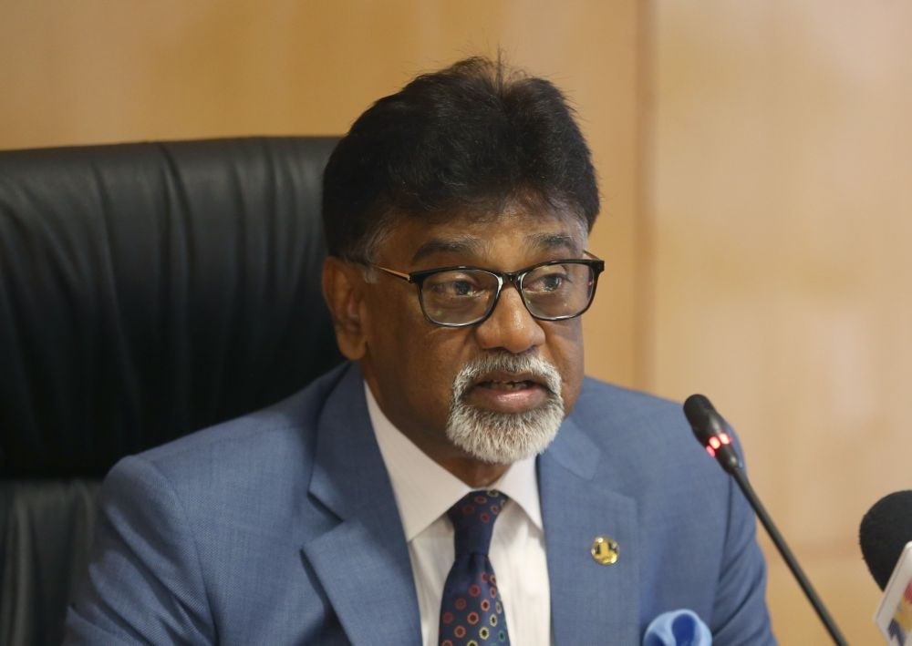 Dr Xavier Jayakumar says the federal government will assist Sarawak and Sabah to achieve better sustainable forest management. ― Picture by Razak Ghazali