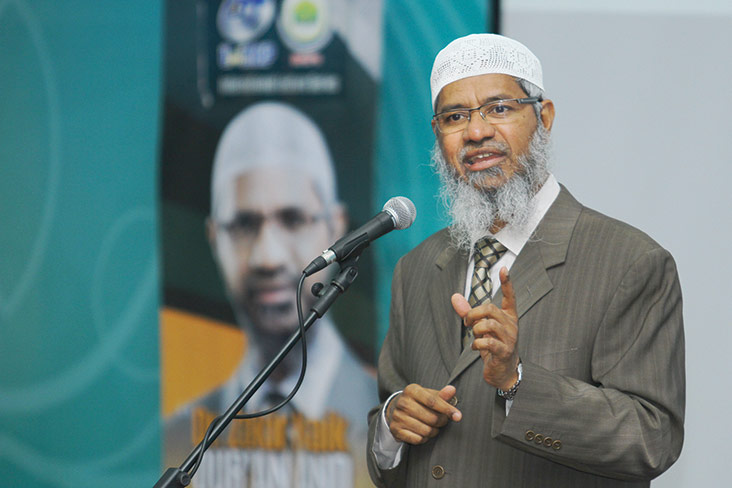 Despite his legal woes in India and past controversies here, Zakir continues to receive deferential treatment from some Malaysian authority figures. — Bernama pic