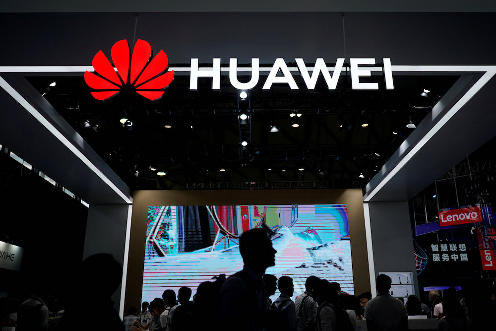 Huawei claims it crossed the symbolic 200-million-unit mark in 2018, and is now aiming for 250 million units in 2019. — Reuters pic