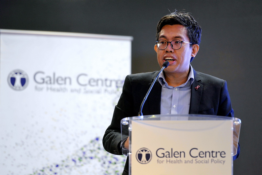 CEO of Galen Centre for Health and Social Policy Azrul Mohd Khalib felt an open tender would encourage competition that would ultimately benefit Malaysians. — Picture by Ham Abu Bakar