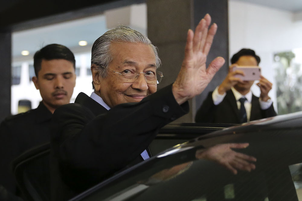 The ministry said the event will be officiated by Prime Minister Tun Dr Mahathir Mohamad, who will also present the keynote address, to be followed by a dialogue on the Bumiputeras' and country's future. — Picture by Yusof Mat Isa