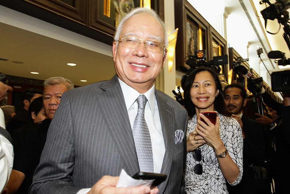 Several Umno members have blamed former prime minister  Datuk Seri Najib Razak for BN's 14th general election defeat to PH. — Picture by Miera Zulyana