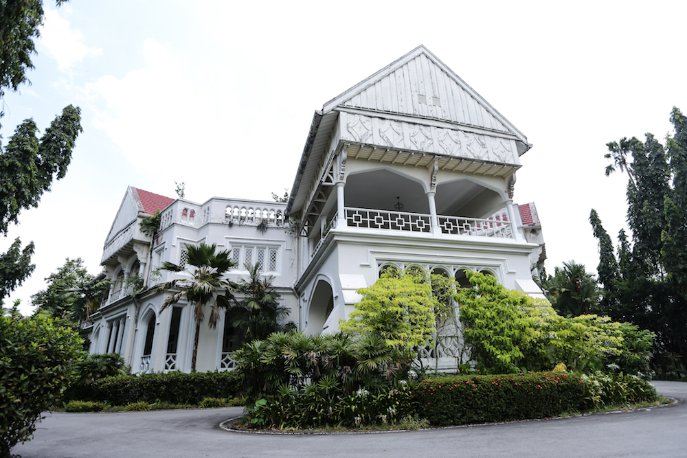 As the older of the two mansions, Carcosa is gazetted as a national heritage site and served as the official residence of then British High Commissioner Sir Frank Swettenham before Independence. — Picture by Ahmad Zamzahuri