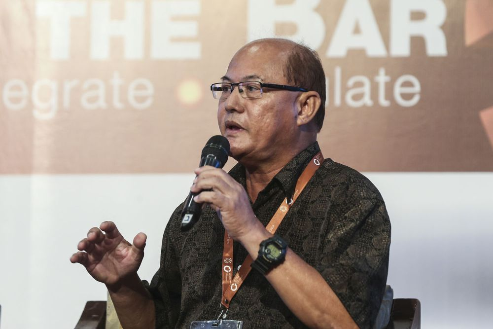 Nicholas said the birth control policy among Orang Asli women went as far back as Dr Mahathir's first administration as prime minister. — Picture by Hari Anggara