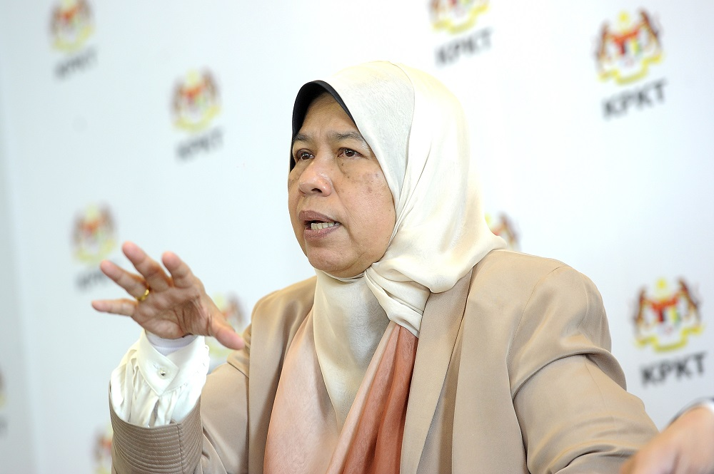 Zuraida said this was important as the policy drawn up by the government was a guide for developers and buyers. — Picture by Shafwan Zaidon