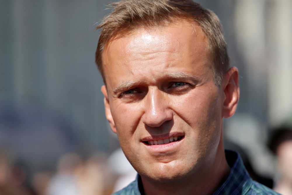 Alexei Navalny had announced he was going on a hunger strike last March — Reuters pic