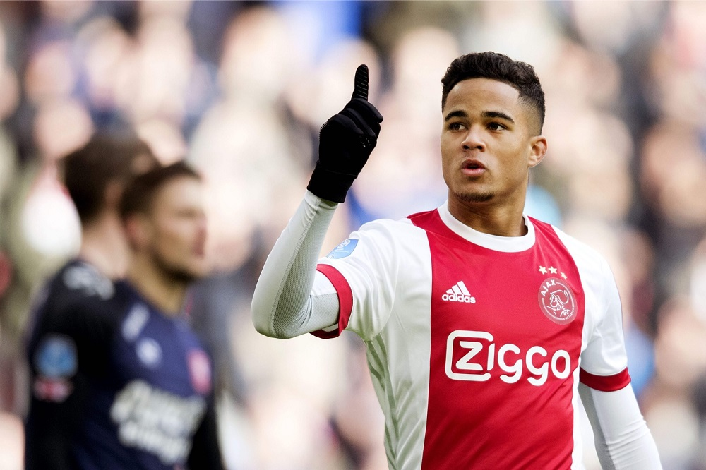 After starting out at Ajax, Justin Kluivert headed for the Italian capital three seasons ago for around €18 million and has some 50 Serie A appearances under his belt. — Reuters pic