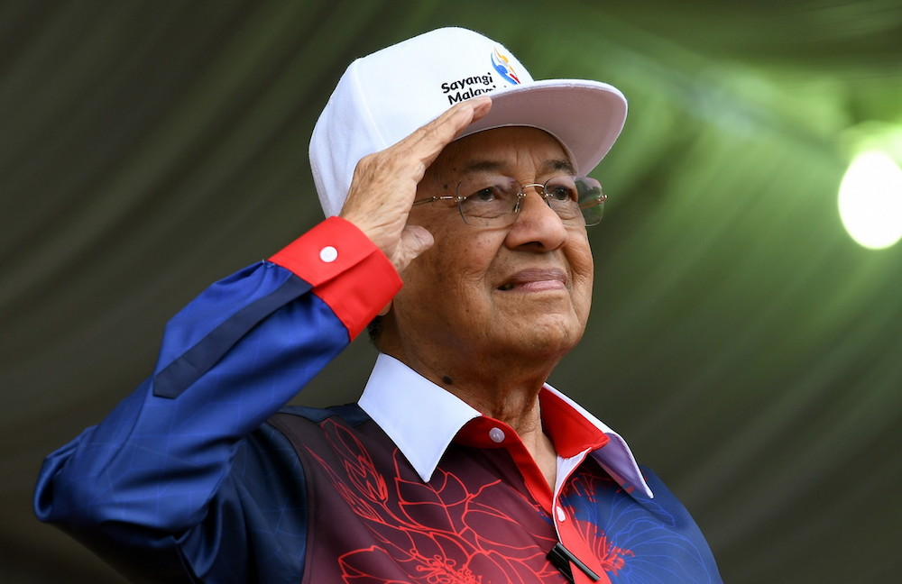said that taking over Putrajaya turned out to be the easiest part for the coalition. — Bernama pic