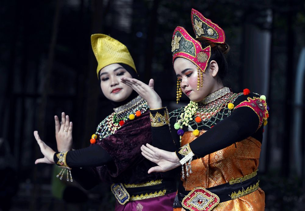 Mak Yong was originally practised as part of a strict tradition upholding the unique place of women within Kelantan. — Picture by Ham Abu Bakar