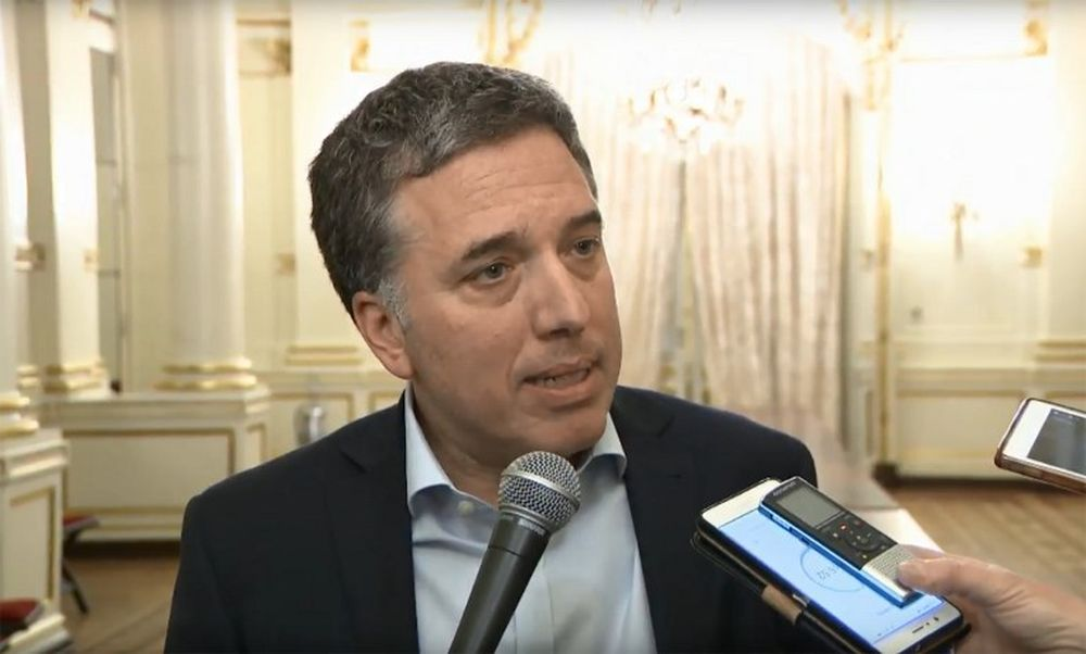 Argentina's Finance Minister Nicolas Dujovne says the country registered a primary surplus of 30.3 billion pesos (RM2.9 billion) for the first half of 2019. ― AFP pic