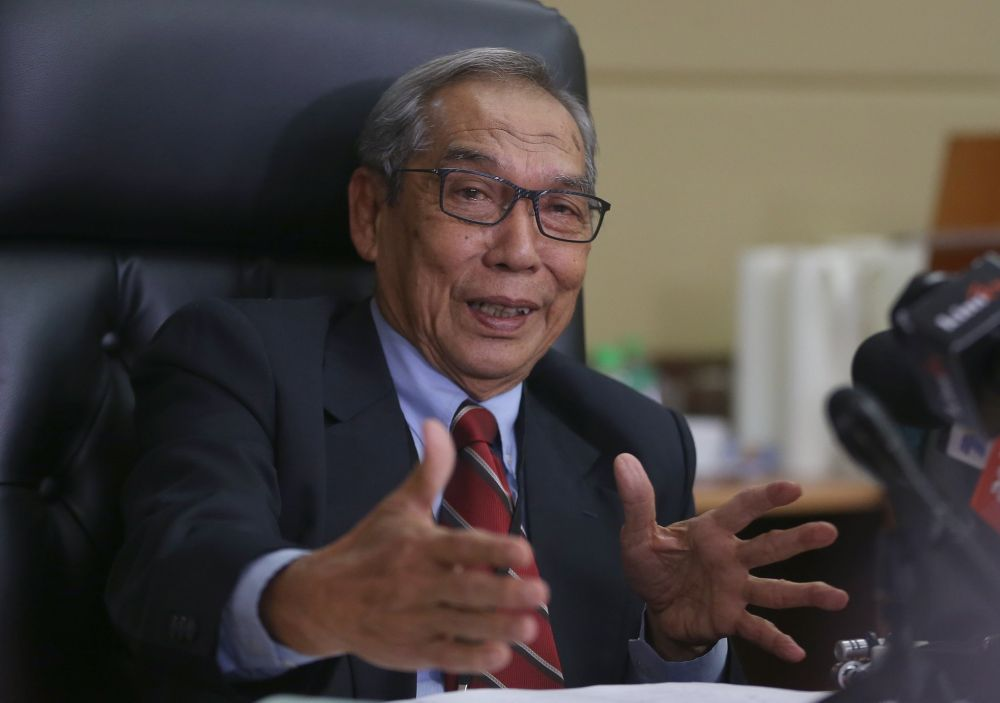 Electoral Reform Committee (ERC) chairman Tan Sri Abdul Rashid Abdul Rahman said the proportionate representation system was seen as an improvement to the existing 'first-past-the-post' system (FPTP). ― Picture by Abdul Razak Ghazali