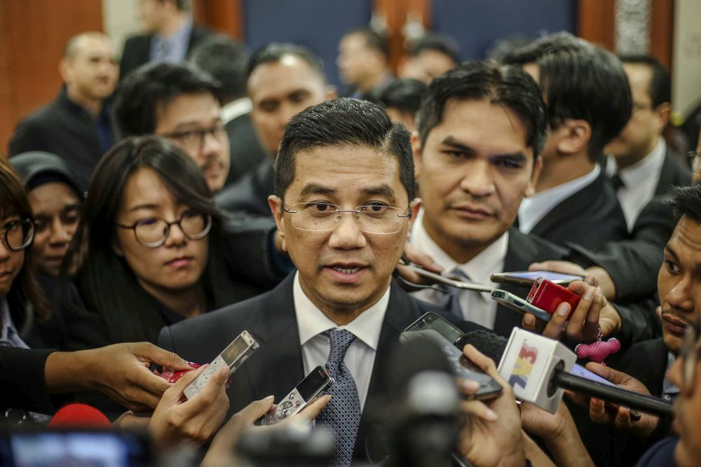 Azmin, who is the incumbent deputy president, is yet to declare his candidacy for any of the party's posts. — Picture by Firdaus Latif