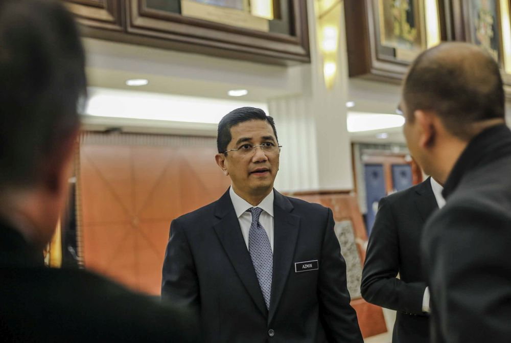 The government will gather economic experts from various sectors to discuss steps that should be taken to strengthen Bumiputera economy at the congress, Azmin said. — Picture by Firdaus Latif