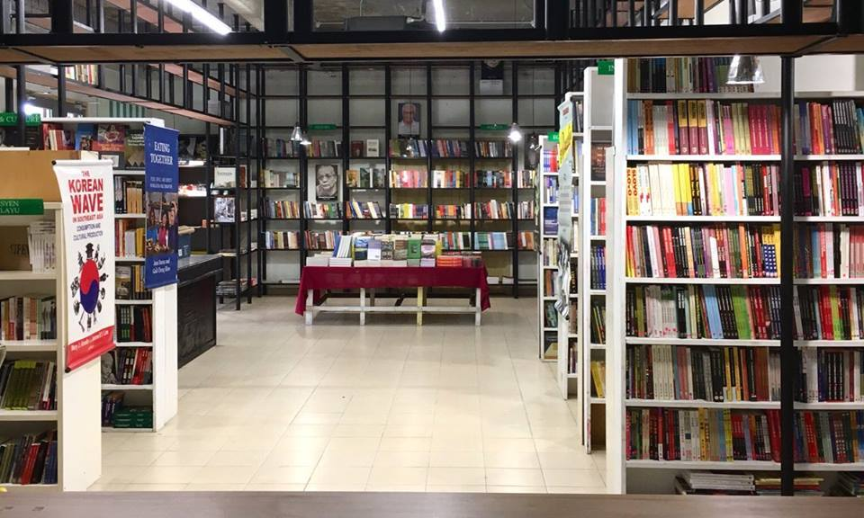 A general view of the GerakBudaya bookstore in Petaling Jaya. Chong said the image for the book cover was taken from a painting that was exhibited in Malaysia several years before. — Picture via Facebook