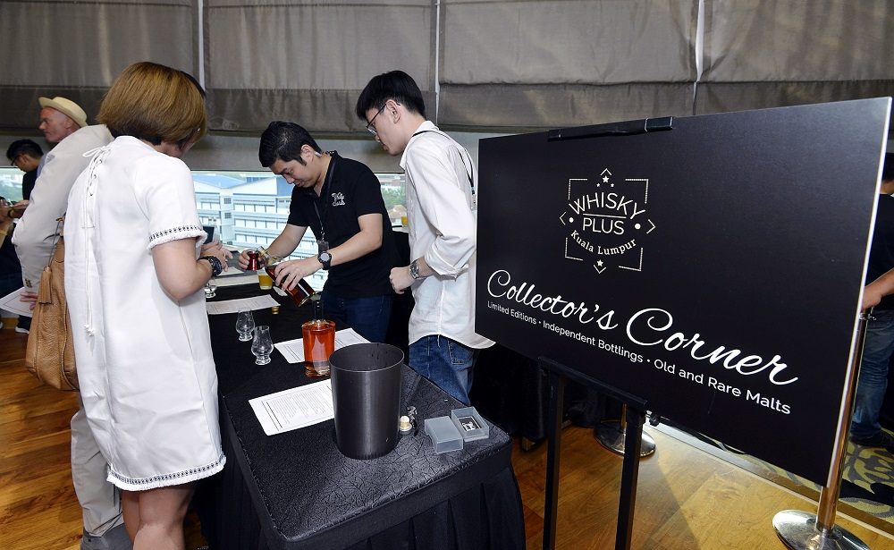 The Collector's Corner gave a chance for whiskey lovers to own their own treasured choices.