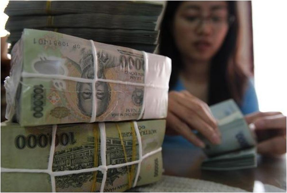 Around 7.5 trillion Vietnamese dong will be used for interest-free loans for businesses to pay salaries. — Reuters pic