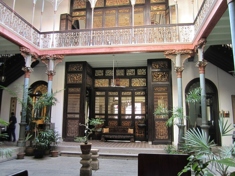 The mansion features traditional Hakka and Teochew architecture styles. — Photo courtesy of Pinterest