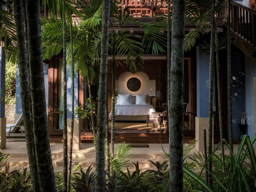 The luxury resort features distinctive Malay-style pavilions and villas. — Photo courtesy of Four Seasons