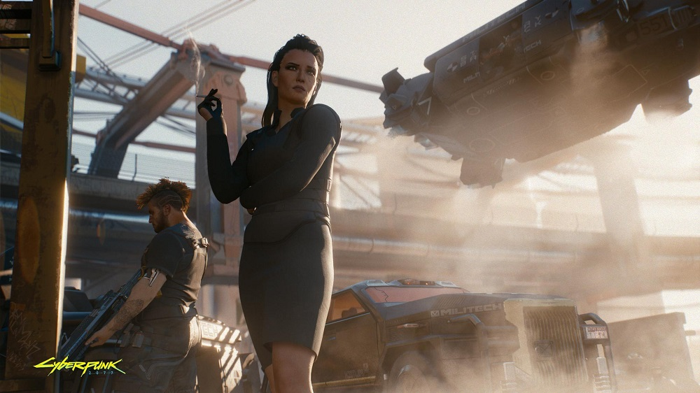 'Cyberpunk 2077' was subject to a big trailer reveal at E3 2018. — Picture courtesy of CD Projekt RED