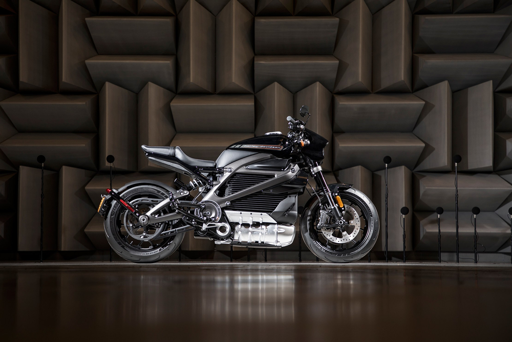 A first look at the Harley-Davidson LiveWire. — Picture courtesy of Harley-Davidson