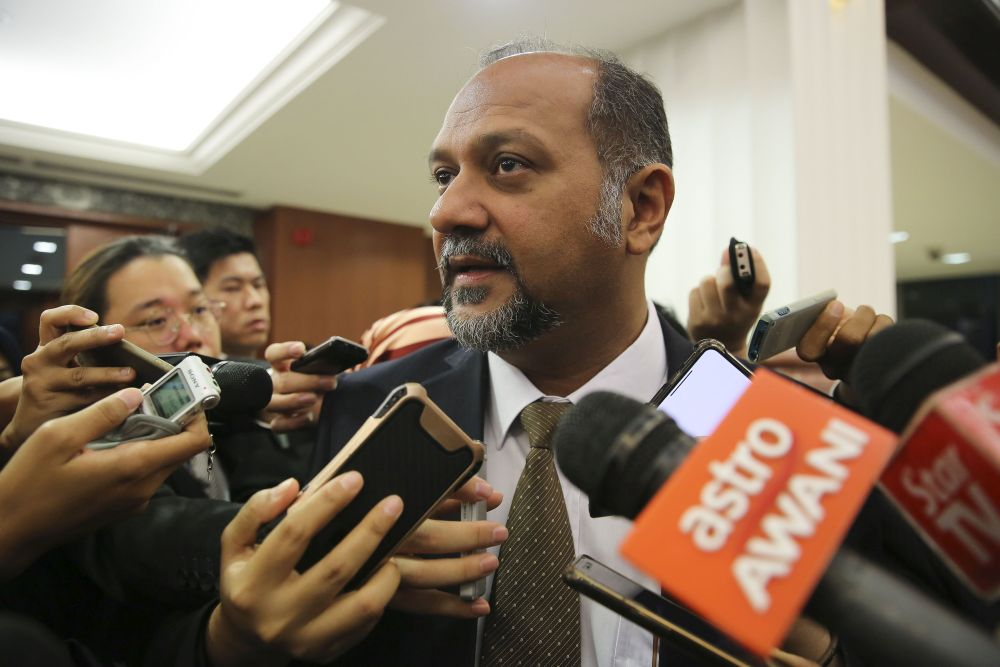 Communications and Multimedia Minister Gobind Singh Deo today said that the Pakatan Harapan (PH) government would ensure the people's involvement and transparency as the basis of the new leadership in the country. — Picture by Yusof Mat Isa
