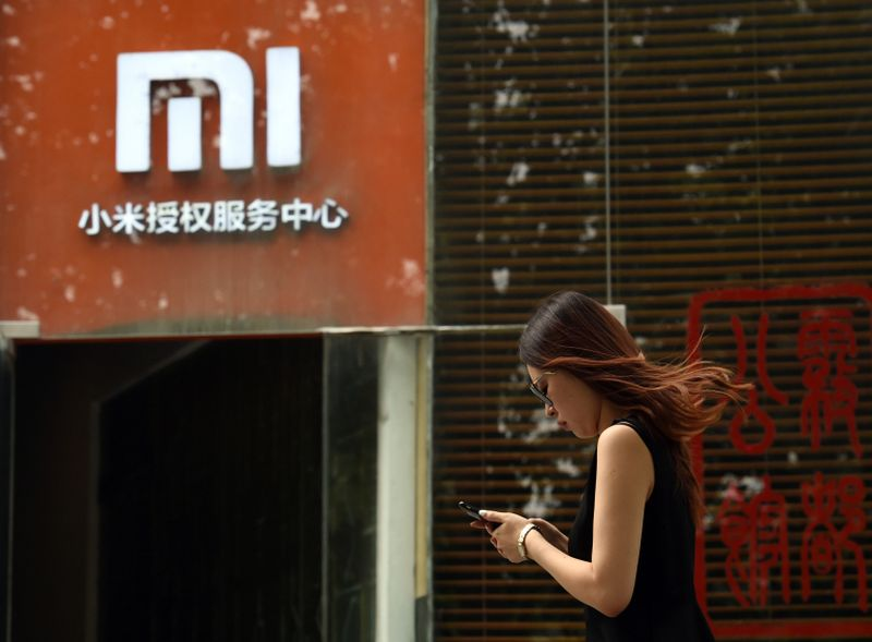 The US Department of Defence will remove China's Xiaomi Corp from a government blacklist. ― AFP pic