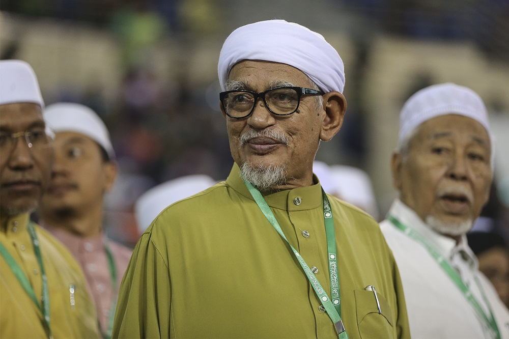 Datuk Seri Abdul Hadi Awang said PAS had repeatedly stated it readiness to be investigated to ensure that the party was clean from any negative elements. — Picture by Azneal Ishak.