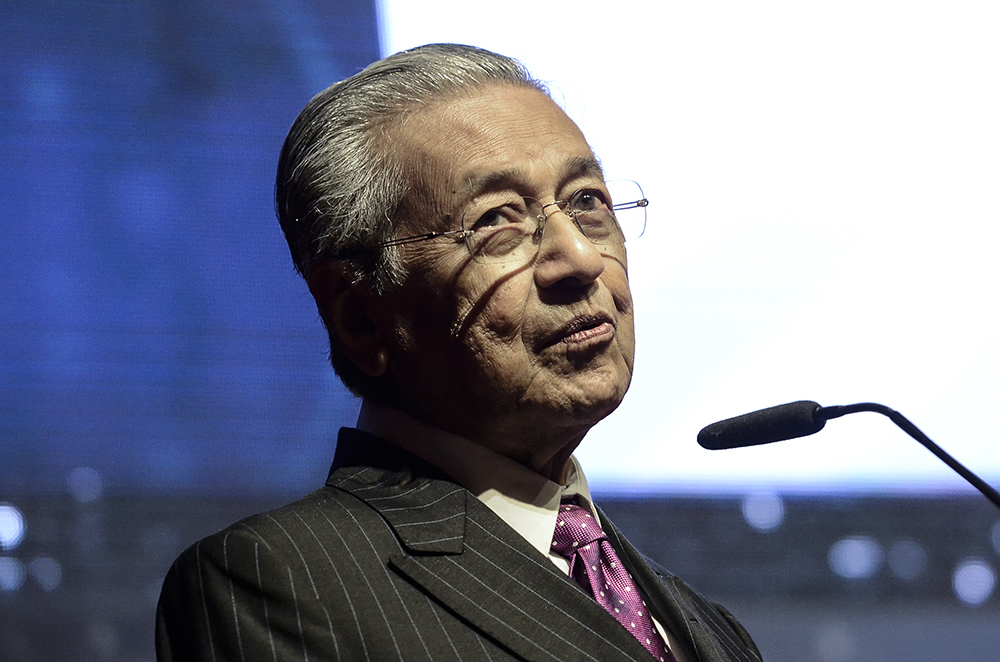 Dr Mahathir says the policy that grants Malays special privileges is necessary to bridge the economic and financial gap with other ethnic groups in the country. — Picture by Miera Zulyana