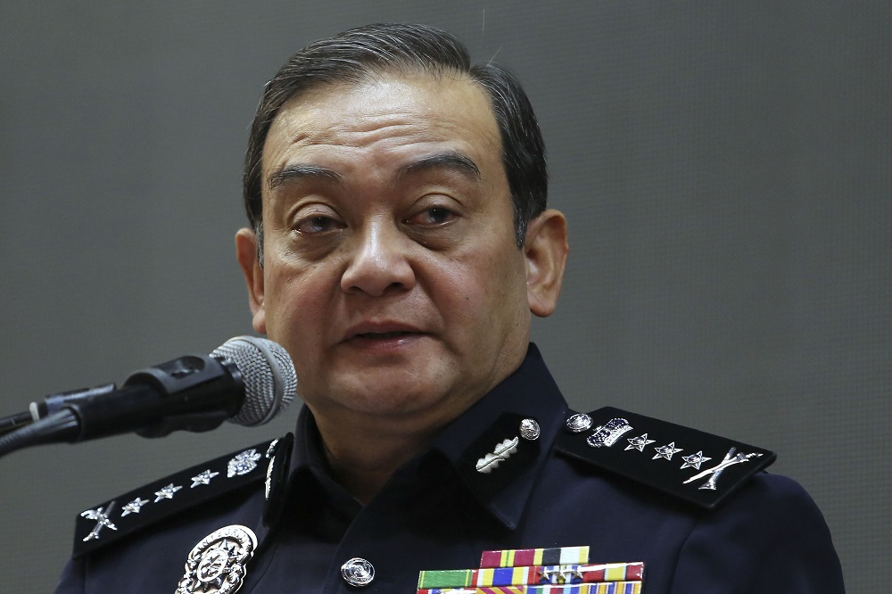 Datuk Mazlan Mansor is appointed as Bukit Aman Commercial Crime Investigation Department (CCID) director. — Picture by Yusof Mat Isa