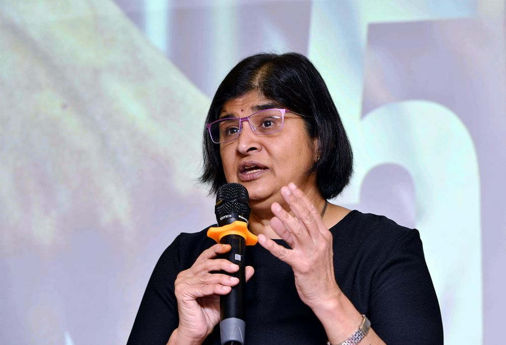 Datuk Ambiga Sreenevasan says political education in school can start small to inculcate good values for their understanding. ― Picture by Ham Abu Bakar