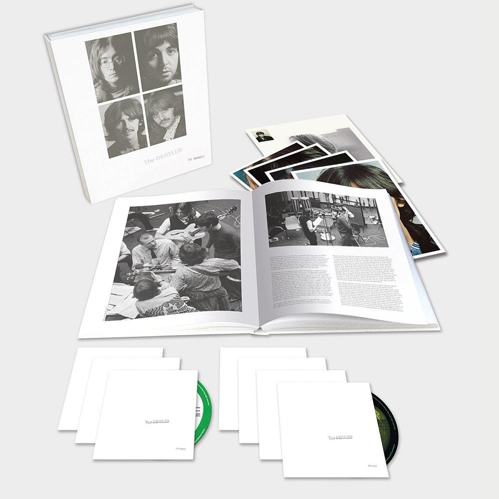 The Beatles' 'White Album' 50th anniversary CD box set. — AFP pic