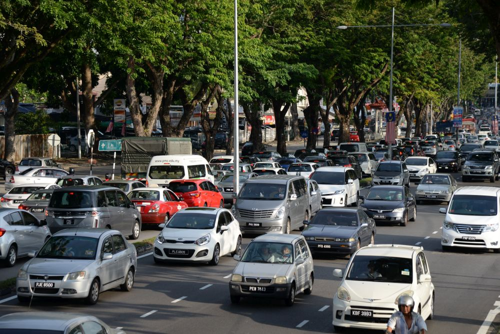 Penang Forum claims PIL1 will not resolve traffic problems on the island. — Picture by KE Ooi