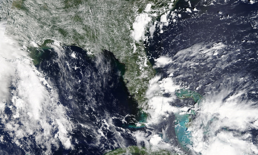 Tropical Storm Gordon is pictured nearing Florida, U.S. in this September 2, 2018 NASA satellite handout photo. — NASA/Handout via Reuters pic