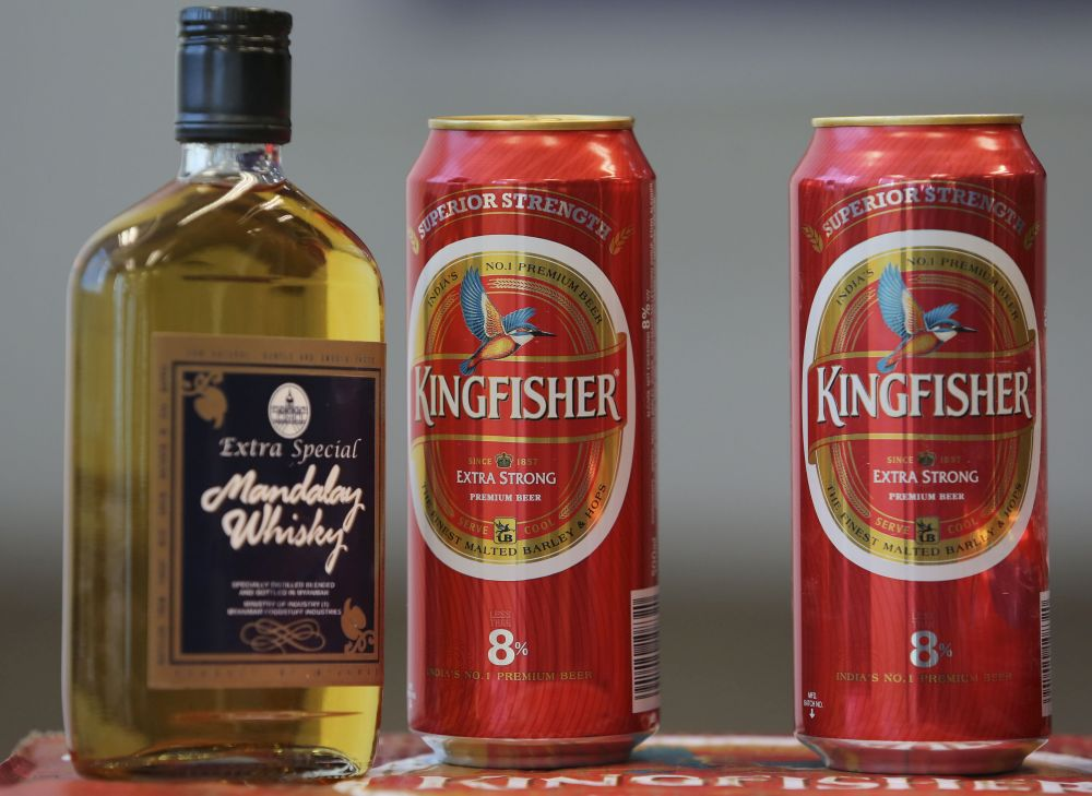 Shashikanth pointed out that the company had detected the sale of counterfeit versions of Kingfisher beer in Malaysia some eight months ago. — Picture by Yusof Mat Isa