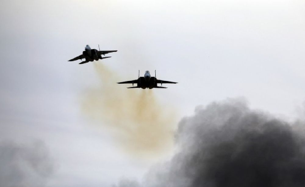 Israeli air strikes reportedly killed 12 pro-Iran fighters near Damascus and in southern Syria. — Reuters file pic