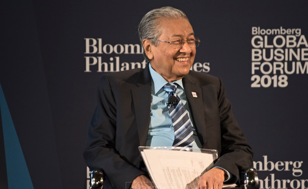 Tun Dr Mahathir Mohamad says the priority of the Malaysian education system is to instill children will correct values. — Picture via Twitter