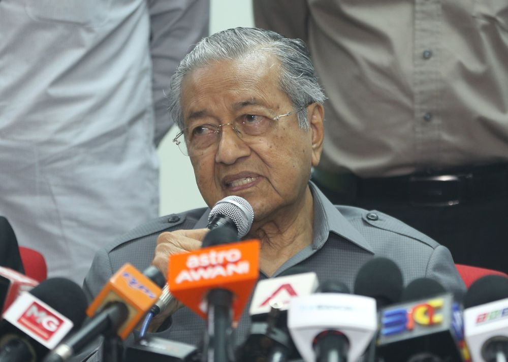 Prime Minister Tun Dr Mahathir Mohamad has insisted against accepting wholesale an international concept of human rights, saying it comes from a Western value system. ― Picture by Razak Ghazali